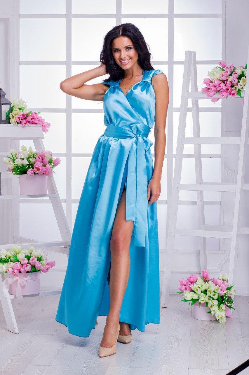 Длинное вечернее платье 3534