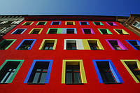 Как подобрать цвет фасада дома.