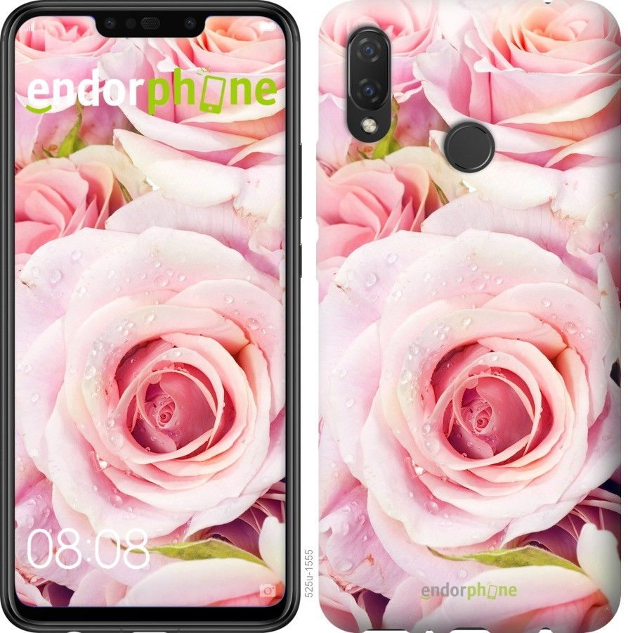 Чехол для телефона Huawei P Smart Plus Розы
