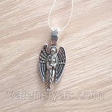 Серебряная подвеска - Ангел Хранитель, фото 3