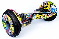 "Гироскутер / Гироборд Smart Balance Elite Lux 10,5"" Хип Хоп +Cумка +Баланс +Приложение (Гарантия 12 Месяцев)"