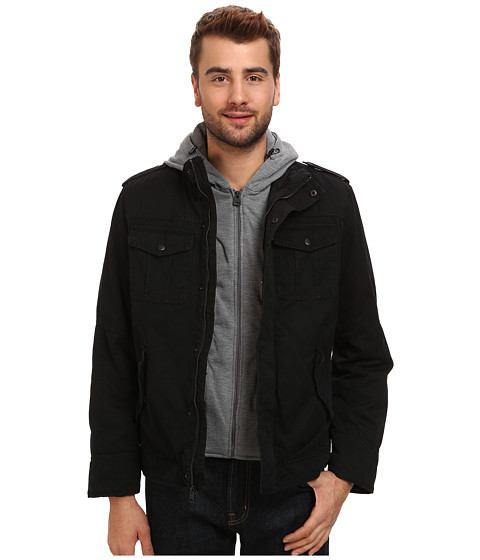 Куртка Levi's® Washed Cotton Four-Pocket Shortie with Zip Out Fleece Hood
