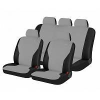 Чехлы для автомобильных сидений Hadar Rosen PASS Светло-серый/Черный 10909