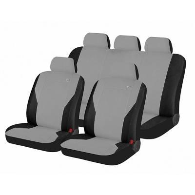 Чехлы для автомобильных сидений Hadar Rosen PASS Светло-серый/Черный 10909, фото 2