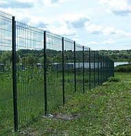 Забор для ограждения с ПВХ,L 2500 х H1530мм, d 4.5мм