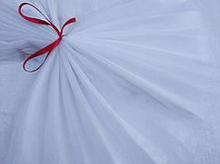 Фатин кристал, белый