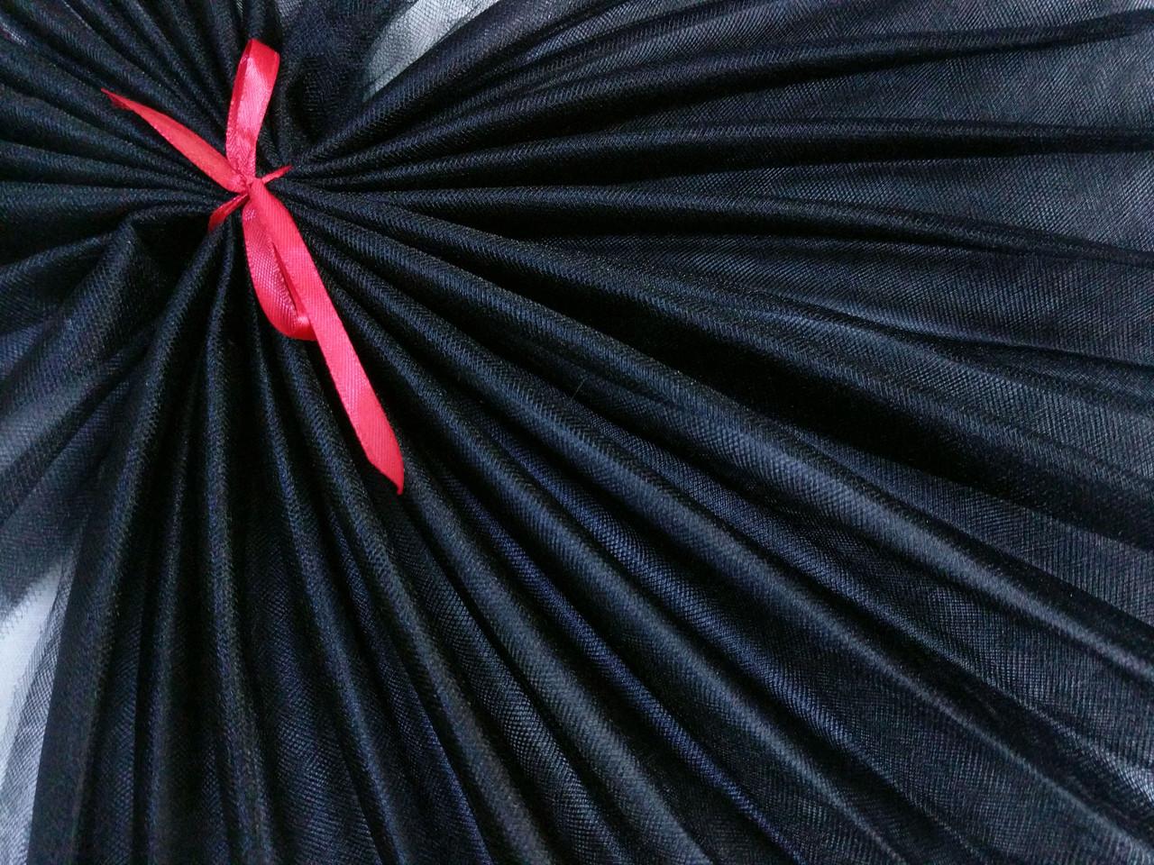 Фатин кристал, черный