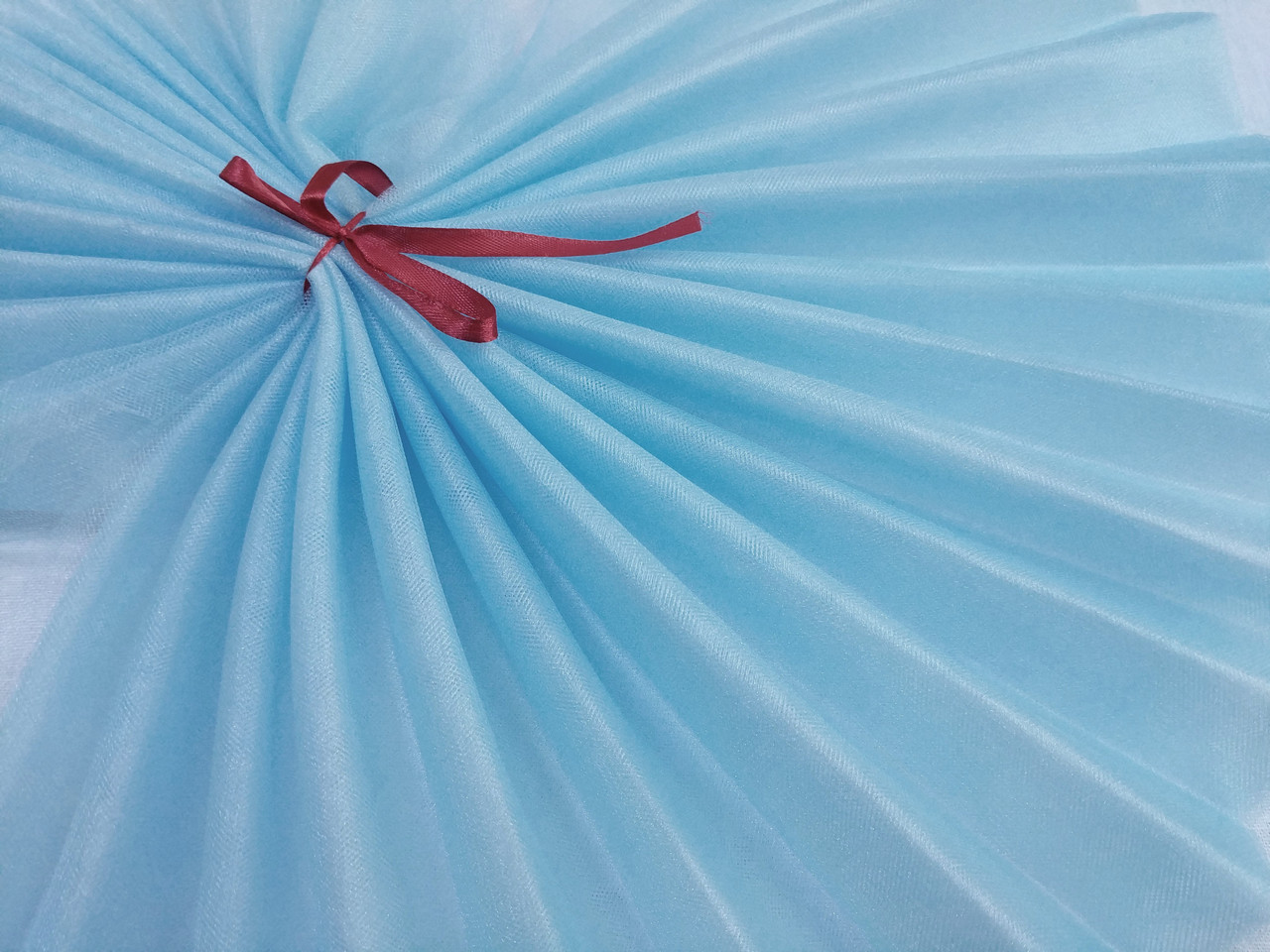 Фатин кристал, небесно-голубой