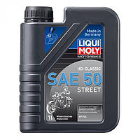 Масло для 4-тактных двигателей LiquiMoly Motorbike HD Classic SAE 50 Street 1 л.