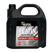 Синтетическое моторное масло BIZOL PLATIN 5W-40 4л