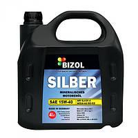 Минеральное моторное масло BIZOL SILBER 15W-40 4л