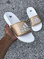 Женские сланцы Adidas, реплика, фото 1