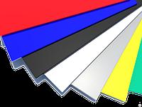 Оцинкованный гладкий лист крашенный  цветной RAL  толщина 0,4 мм