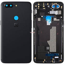 Задняя крышка OnePlus 5T (A5010), черная Оригинал