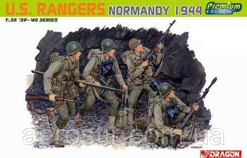 US rangers (Normandy, 1944).1/35 Dragon 6306