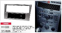 Рамка переходная Carav 11-026 Opel Astra 04-10, Corsa 06+, Zafira 05-12 1DIN w/pocket Silver