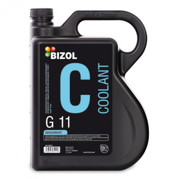 Антифриз BIZOL Coolant G11 концентрат 5л B81411 синий