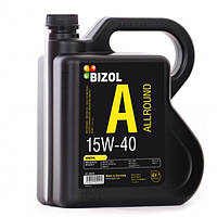 Минеральное моторное масло BIZOL Allround 15W40 4л