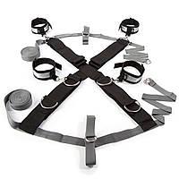 Крестообразная ременная система для фиксации к кровати Замри Fifty Shades of Grey