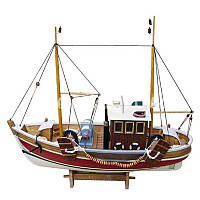 Морской сувенир корабль, 46x15x39 см.,5160 Sea Club