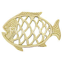 Морской сувенир подставка под горячее Рыбка, 16,5x23 см., Sea Club