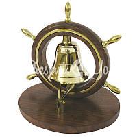 Морской сувенир звонок, h-14,5 см., Sea Club