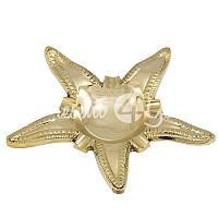 Морской сувенир пепельница Морская звезда, d-17 см., Sea Club