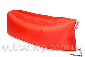Надувной шезлонг лежак RipStop (оранжевый)