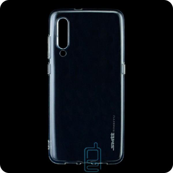 Чехол силиконовый SMTT Xiaomi Mi 9 прозрачный