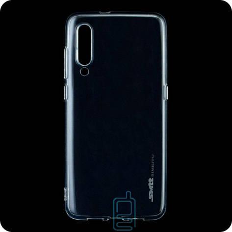 Чехол силиконовый SMTT Xiaomi Mi 9 прозрачный, фото 2