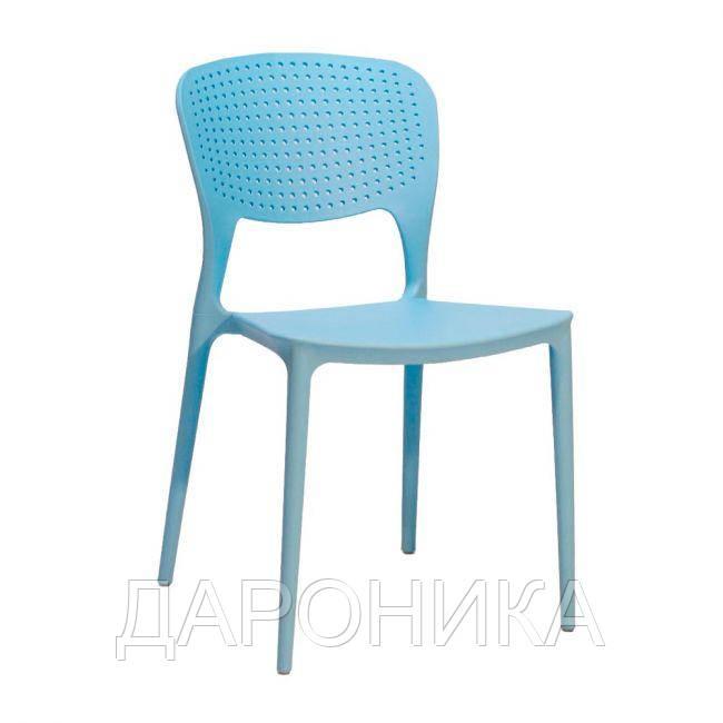 Стул пластиковый Mark, цвет голубой