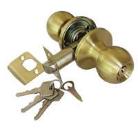 Дверные ручки APECS  Защелка 6072-01 Матовое золото