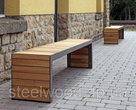Садовый комплект стол с лавками 2