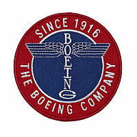 Нашивка Boeing Totem Patch 580080030020 (Red)