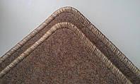 Коврик  на  резиновой основе недорого бежевый 600х400 мм