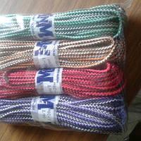 Шнур полипропиленовый твердый  цветной 6мм 20м