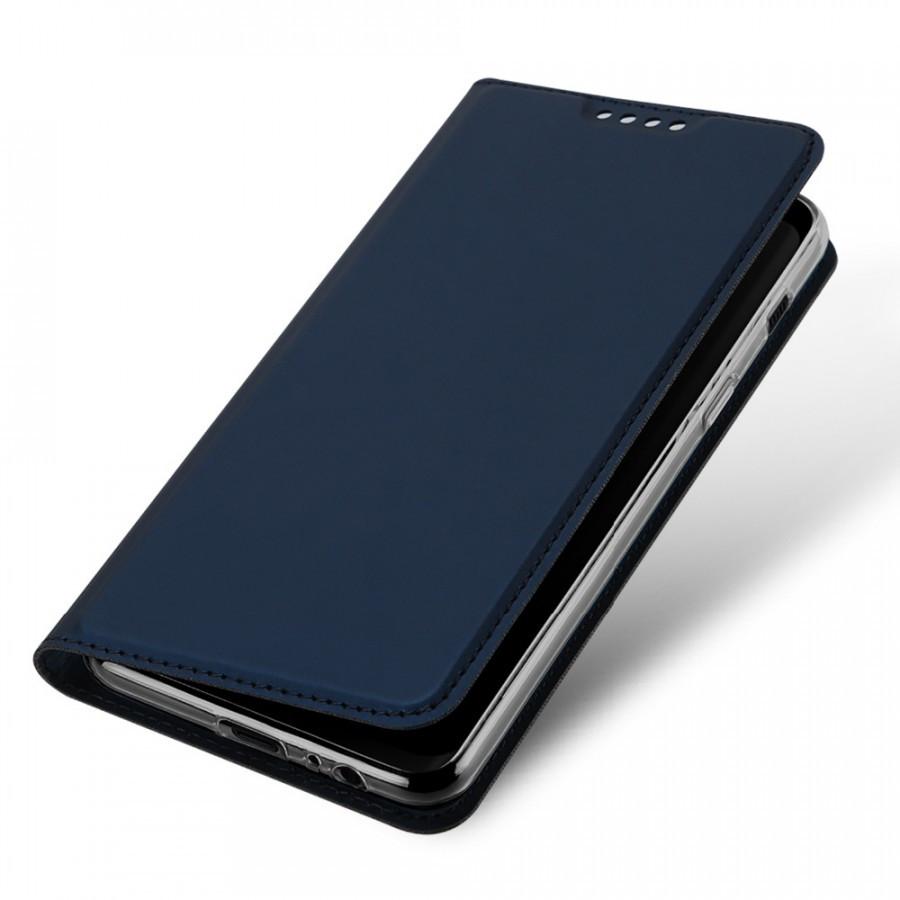 Чехол-книжка Dux Ducis с карманом для визиток для Samsung A530 Galaxy A8 (2018) Синий