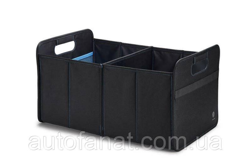 Оригинальный складывающийся контейнер в багажник Volkswagen Logo Foldable Container, Black (33D061104)