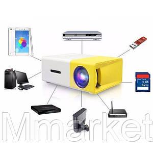 Мультимедийный портативный проектор YG 300