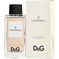Туалетная вода - Dolce&Gabbana Anthology L`Imperatrice 3 - 100 ml реплика
