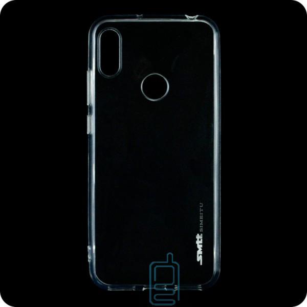 Чехол силиконовый SMTT Huawei Y6 2019 прозрачный