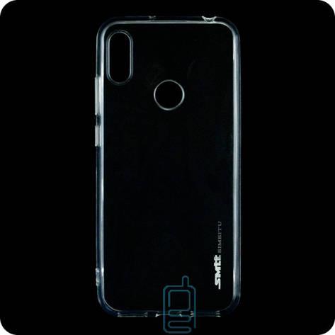 Чехол силиконовый SMTT Huawei Y6 2019 прозрачный, фото 2