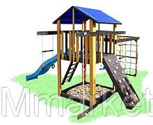 Детский игровой комплекс с рукоходом и качелями Babygrai-3 Пчелка