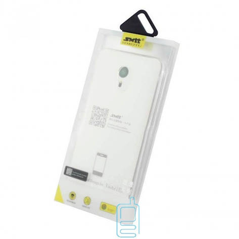 Чехол силиконовый SMTT Meizu Pro 6 Plus прозрачный, фото 2