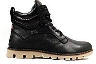 Качественные берцы в стиле Levis сапоги жесть!) Стильные мужские зимние ботинки