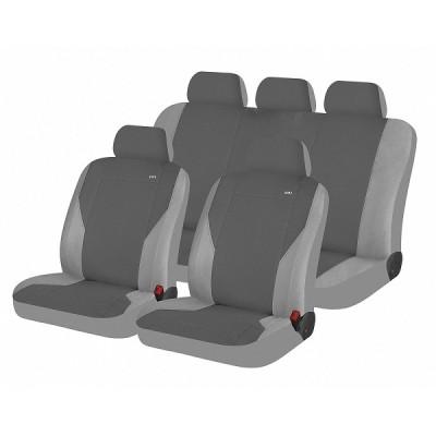 Чехлы для автомобильных сидений Hadar Rosen PASS Темно-серый\Светло-серый 10908