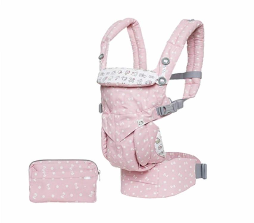 Рюкзак-кенгуру ErgoBaby Hipseat Backpack для перенесення дітей Рожевий (SUN4718)