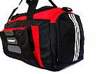 Большая спортивная сумка. Adidas. Дорожная сумка. Сумки адидас. Мужские сумки., фото 4
