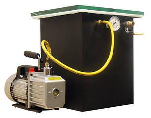 Дополнительное оборудование и материалы- вакуумные камеры.Электронные весы.