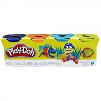 Набір пластиліну Play-Doh 4 баночки Hasbro (Ass. B5517) A